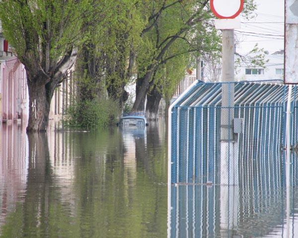 паводок в Новокуйбышевске