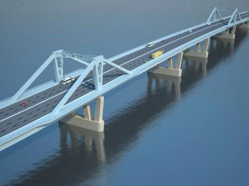 Иллюстрация из проекта Фрунзенского моста