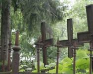 закрыли кладбище
