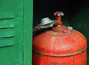 бытовой газовый баллон