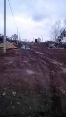 Дороги в поселке Малое Томылово