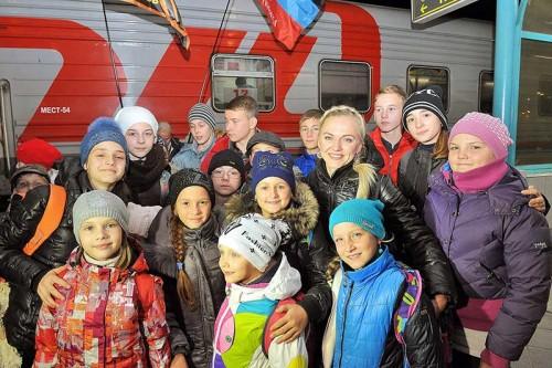 дети из ДНР в Новокуйбышевске