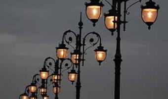 проведут ремонт освещения в парке Труду и Славы