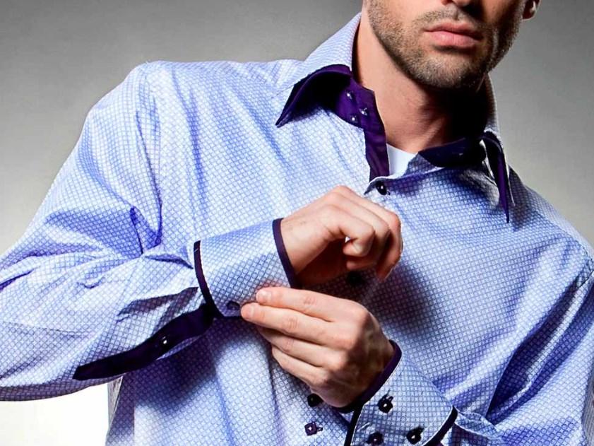 Мужские рубашки под костюм - история и где найти