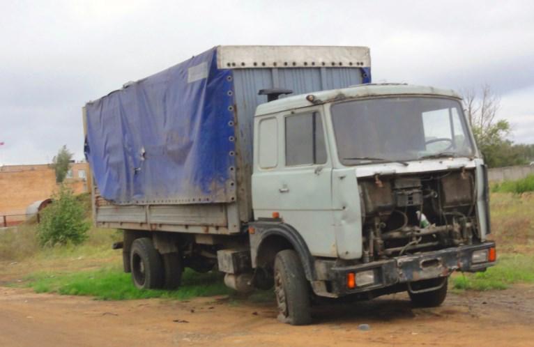 Ремонт грузовых автомобилей на территории Москвы