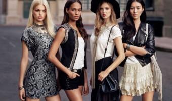 Рок-стиль в одежде для девушек
