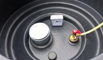 Полимерная емкость для дизельного топлива