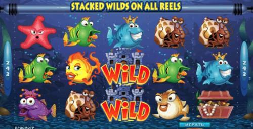 Игровой слот Fish party