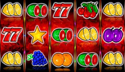 Игровой автомат Flame fruits