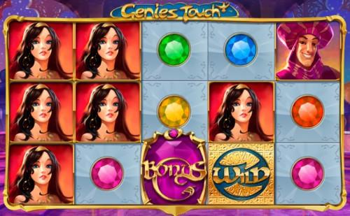 Игровой слот Genie's Touch