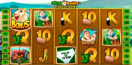 Игровой автомат Spud O'Reilly's Crops of Gold