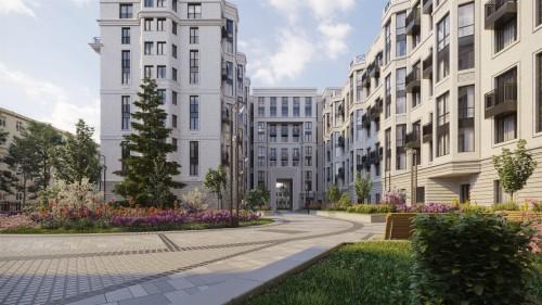 Гранд Вью жилой комплекс в Санкт-Петербурге ждет своих жильцов